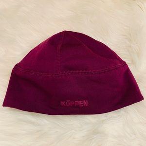 Koppen Accessories - NWOT Koppen purple toboggan